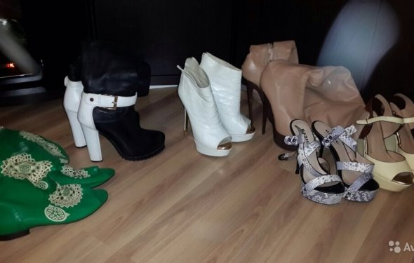 Брендовые обувь и одежда в