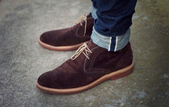 Фото модная мужская обувь