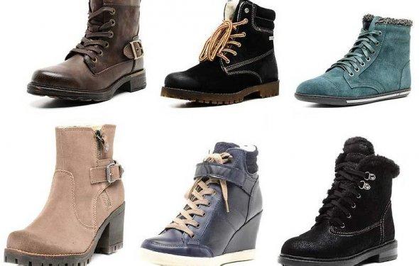 Модные ботинки весна 2015