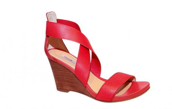 сатиновые туфли на платформе