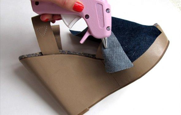 ремонт обуви мастер класс