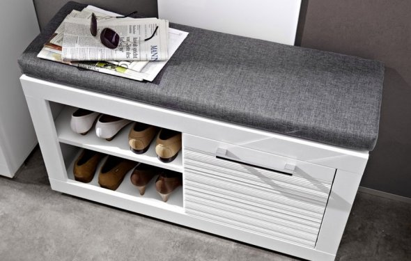 Тумба для обуви с сиденьем