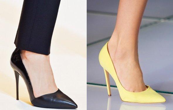 Женские модные туфли